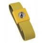 Bracelet anti-allergique jaune, pression de 10 mm