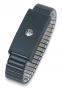 Bracelet métal pression 4 mm