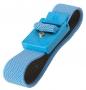 Bracelet tissu anti-allergique pression 4 mm