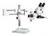 Stéréo-microscope binoculaire avec statif coulissant